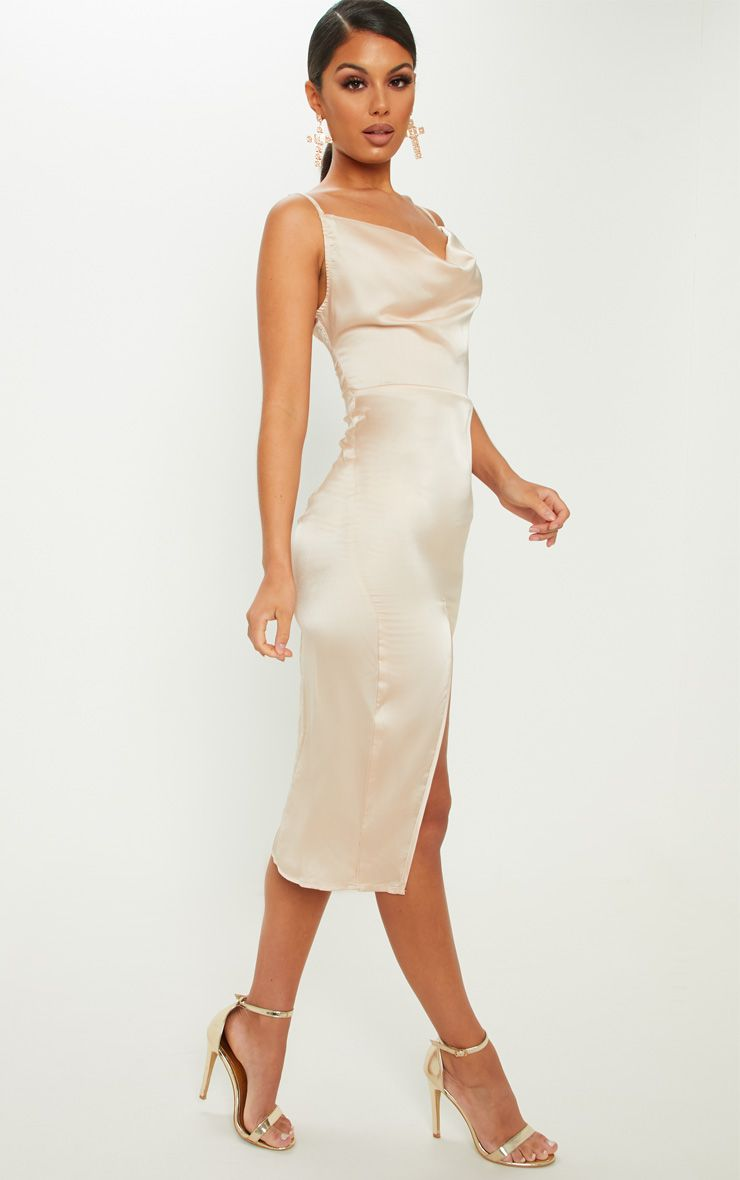 CHAMPAGNE STRAPPY SATIN COWL MIDI DRESS.jpg