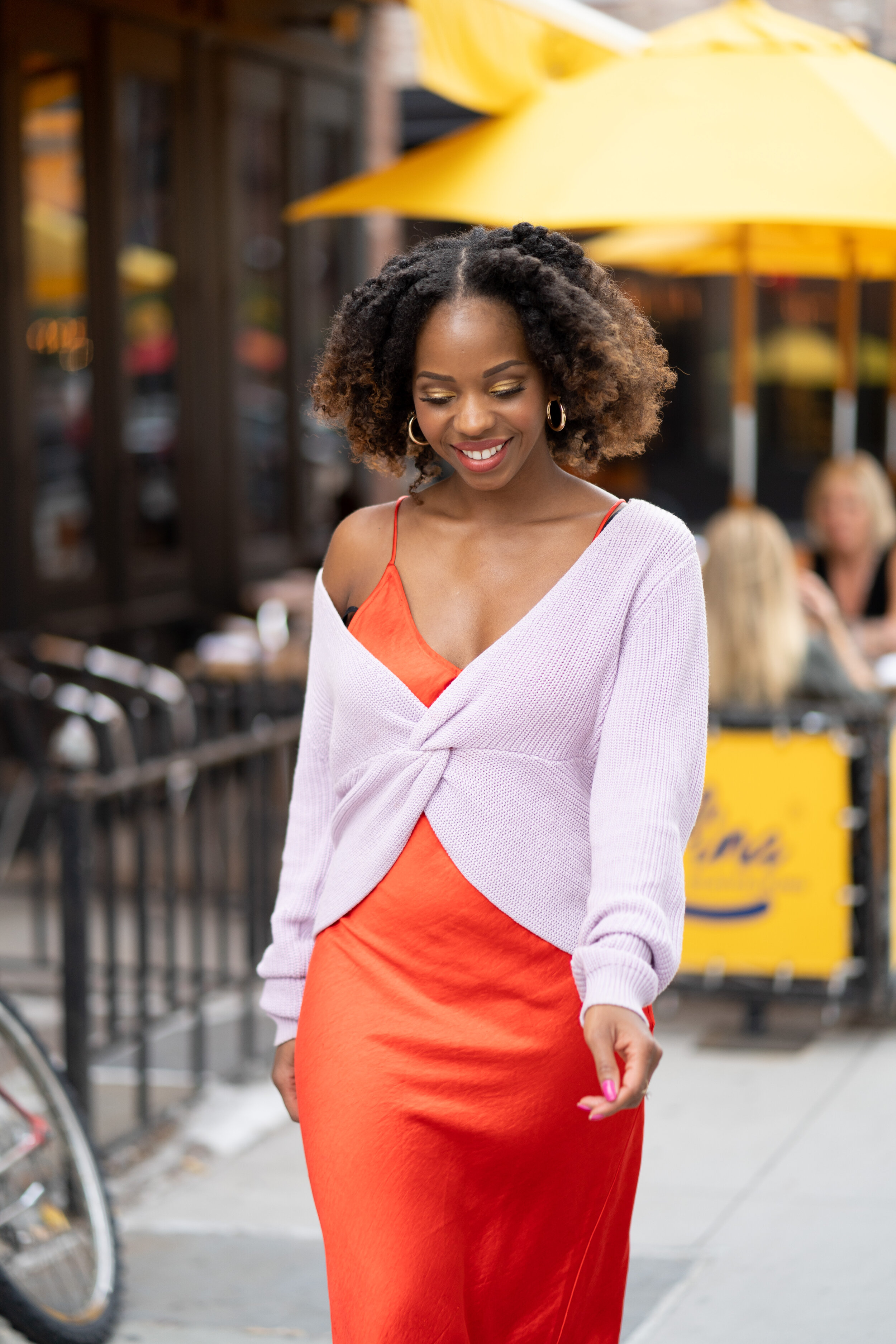 Styling a Slip Dress for Fall