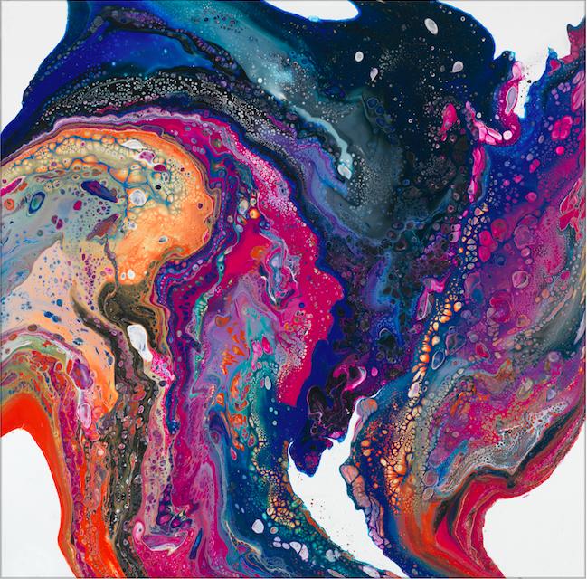 Carnivale - 36 x 36 Acrylic on Canvas