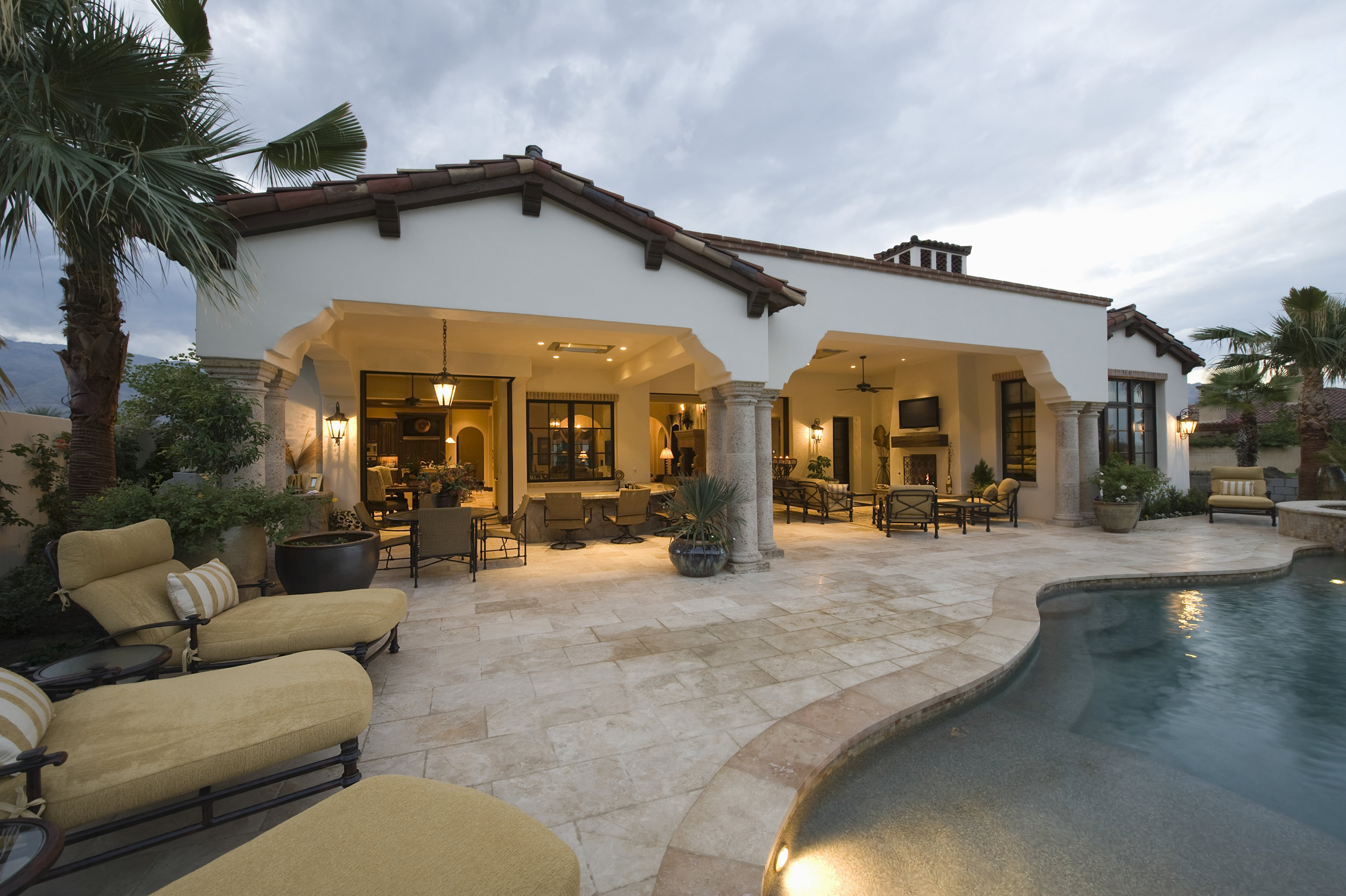 It's most likely time to think about a flattening real estate market in Palm Springs