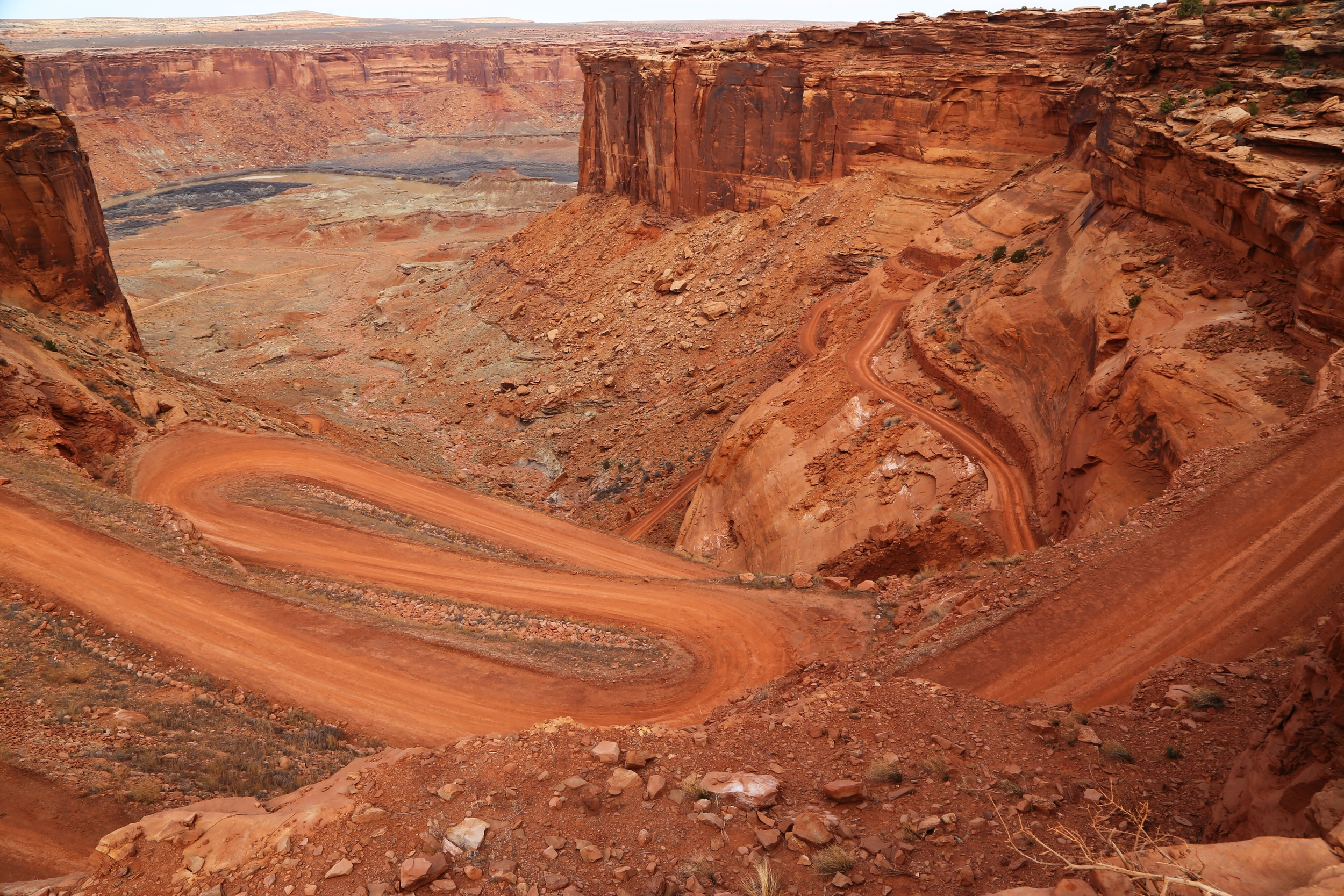 End of our journey, the beginning for others, White Rim Road, Canyonlands NP