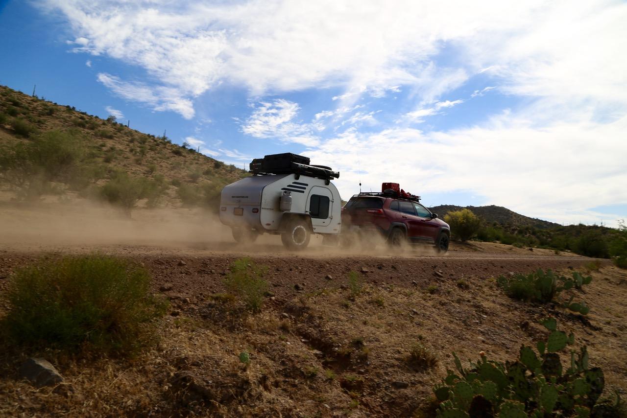 Speeding towards Arizona