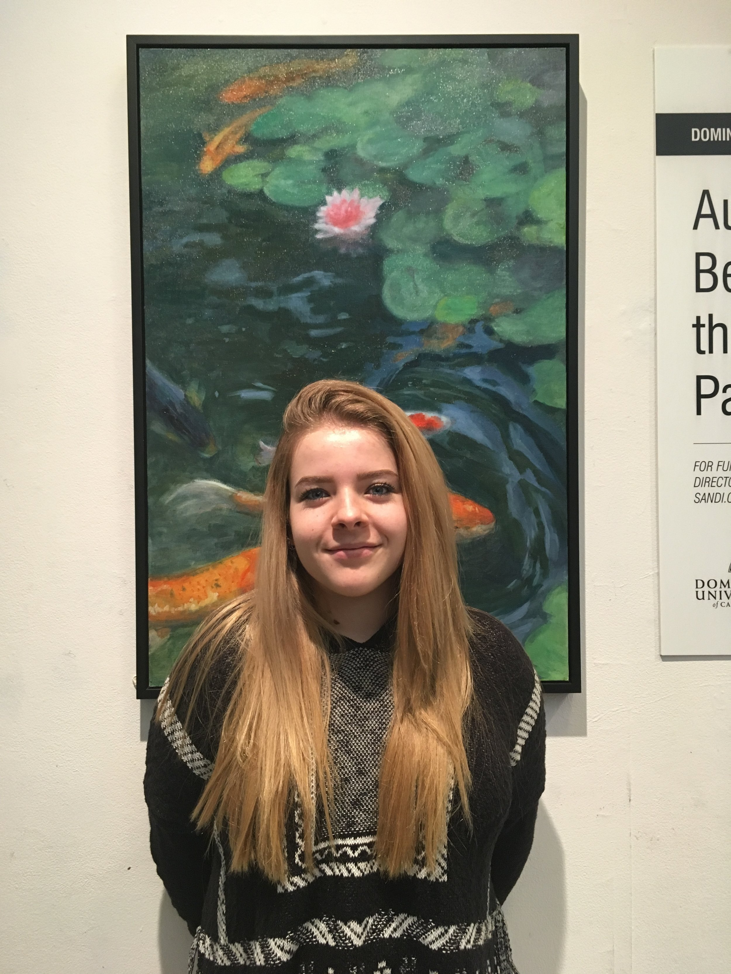 My name is Hailey Pawlak, you have to call me nighthawk, and I am a first year student at Dominican University of California and I'm and studying Graphic Design and Communications I am also minoring in Marketing and Advertising. I'm originally from Santa Cruz, California. I enjoy painting, drawing, anything involving art, exploring, finding new places to spend all of my money on coffee, and going to concerts. After college my goal is to leave Dominican with the knowledge to obtain a sustainable job in the Graphic Design/Communications field. Hopefully I can design shirts and posters for upcoming bands or places like Urban Outfitters. Either way, as long as I'm creating art and listening to music I'll be happy.