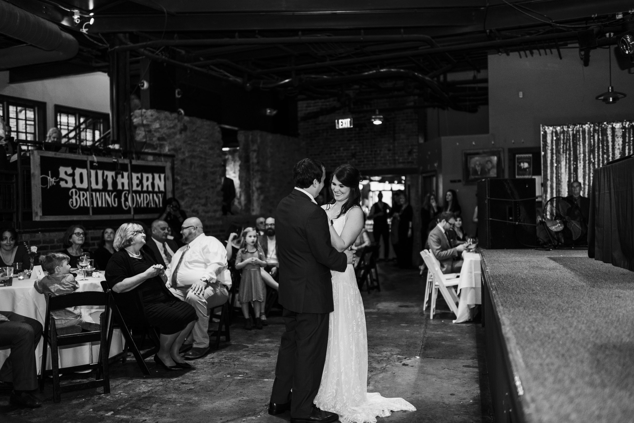 wedding the foundry Athens Georgia first dance