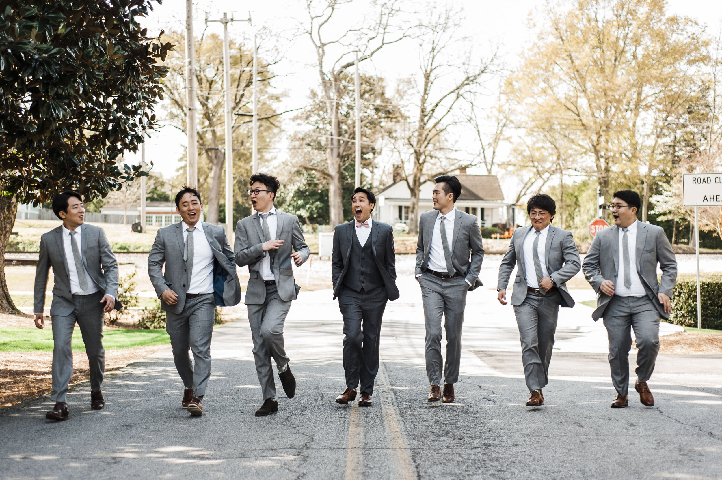 groomsmen Korean wedding atlanta