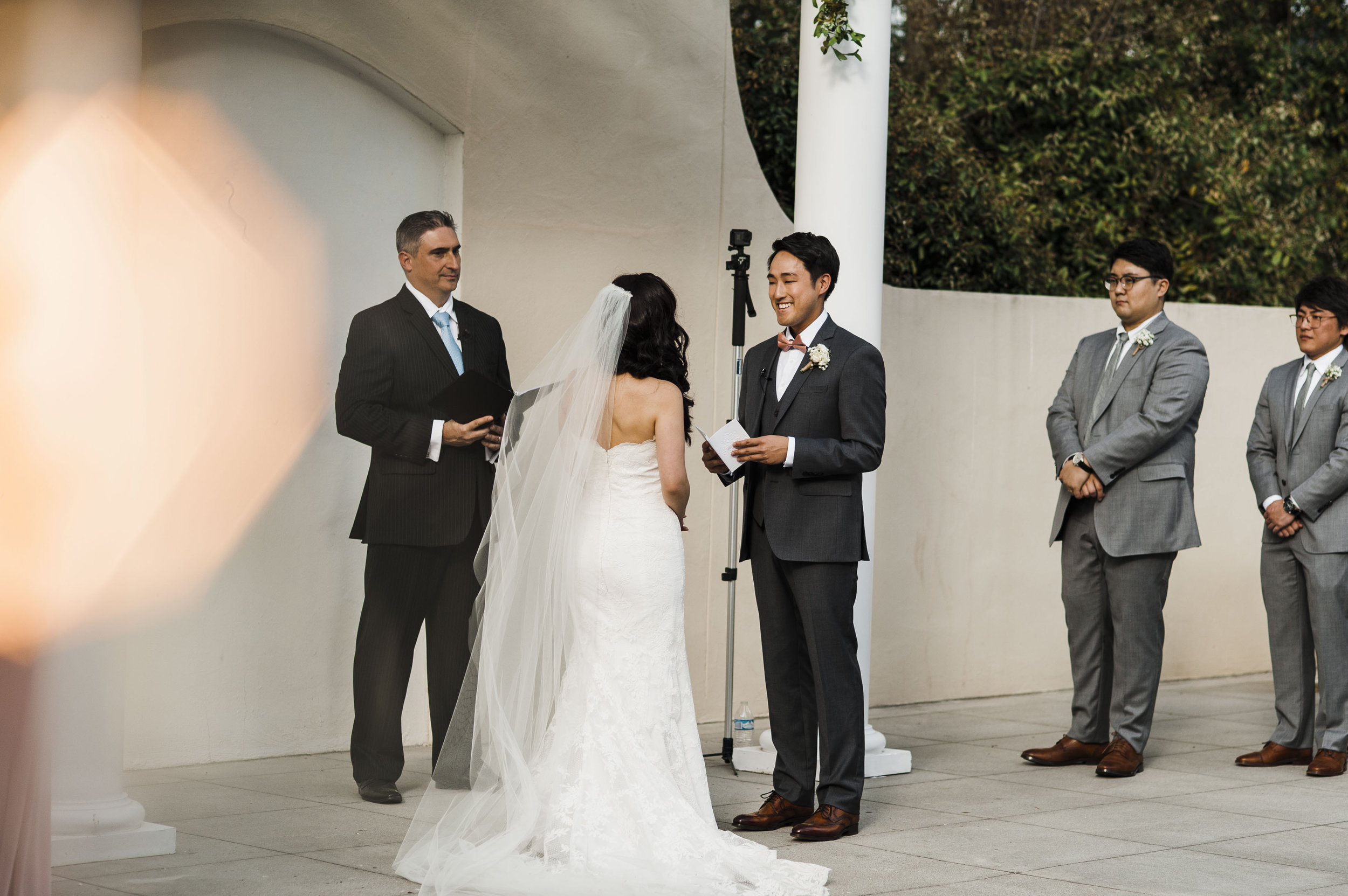 Korean wedding ceremony atlanta groom vows
