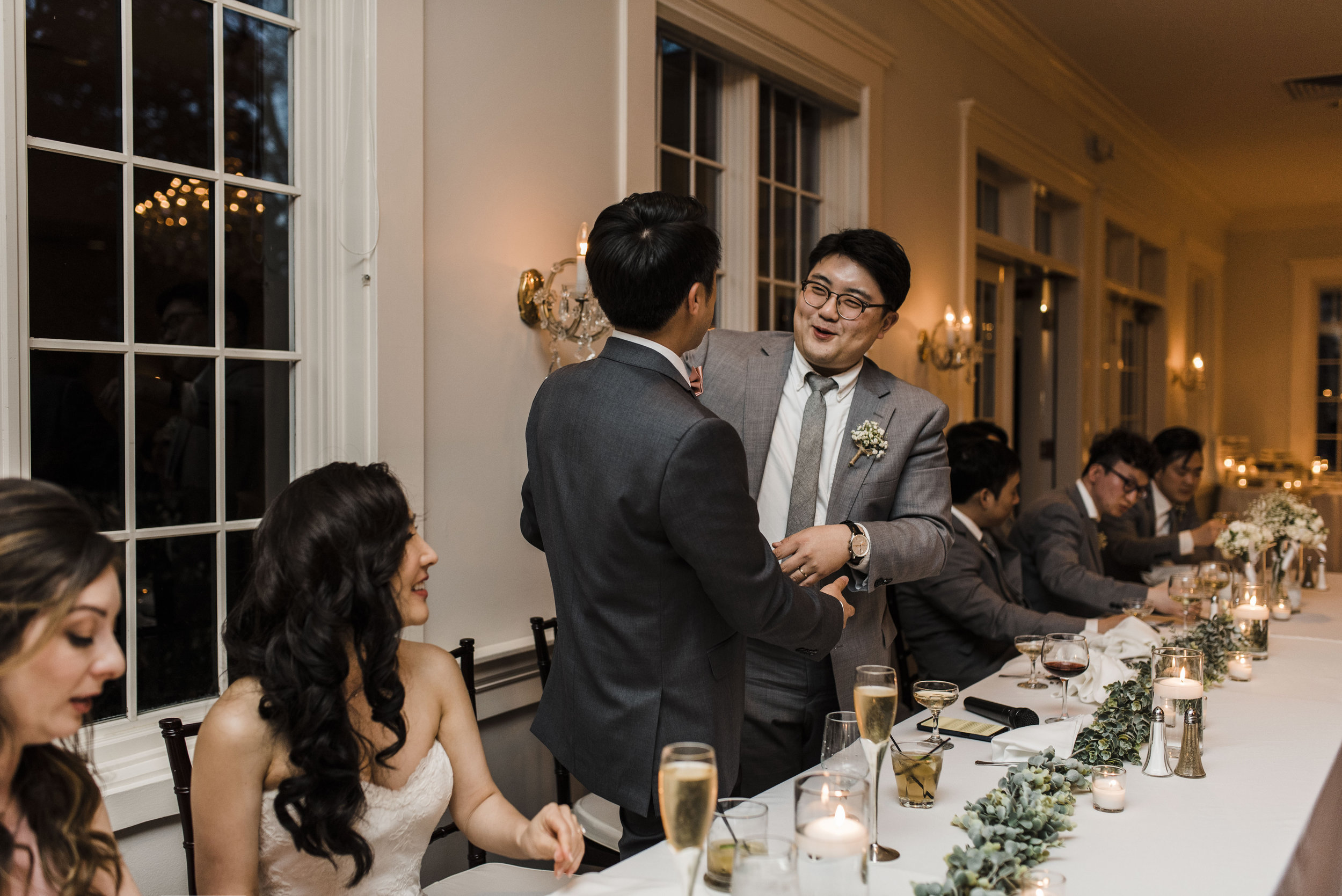Korean wedding atlanta 173 Carlyle house toast