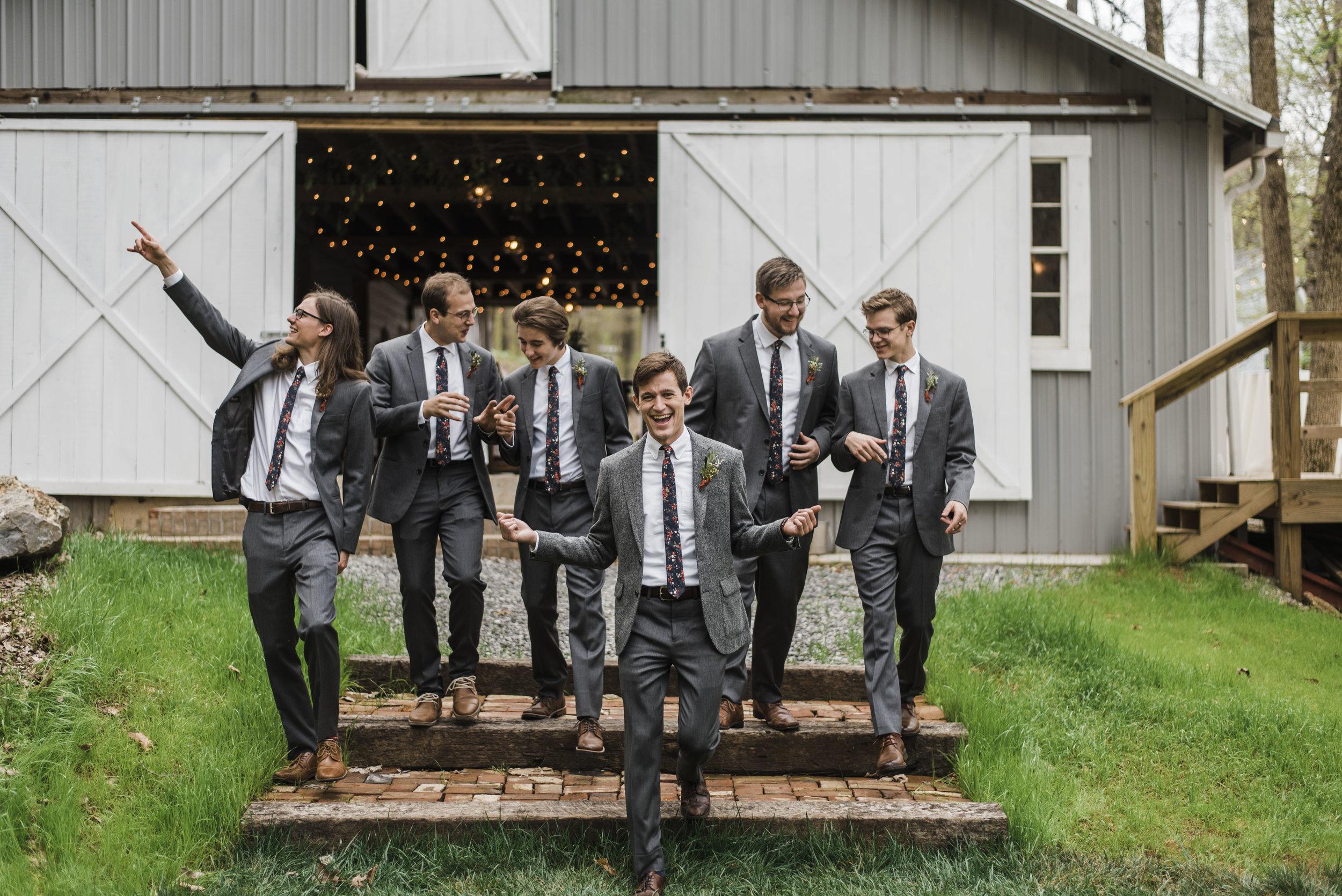 wedding groomsmen chattanooga Tennessee