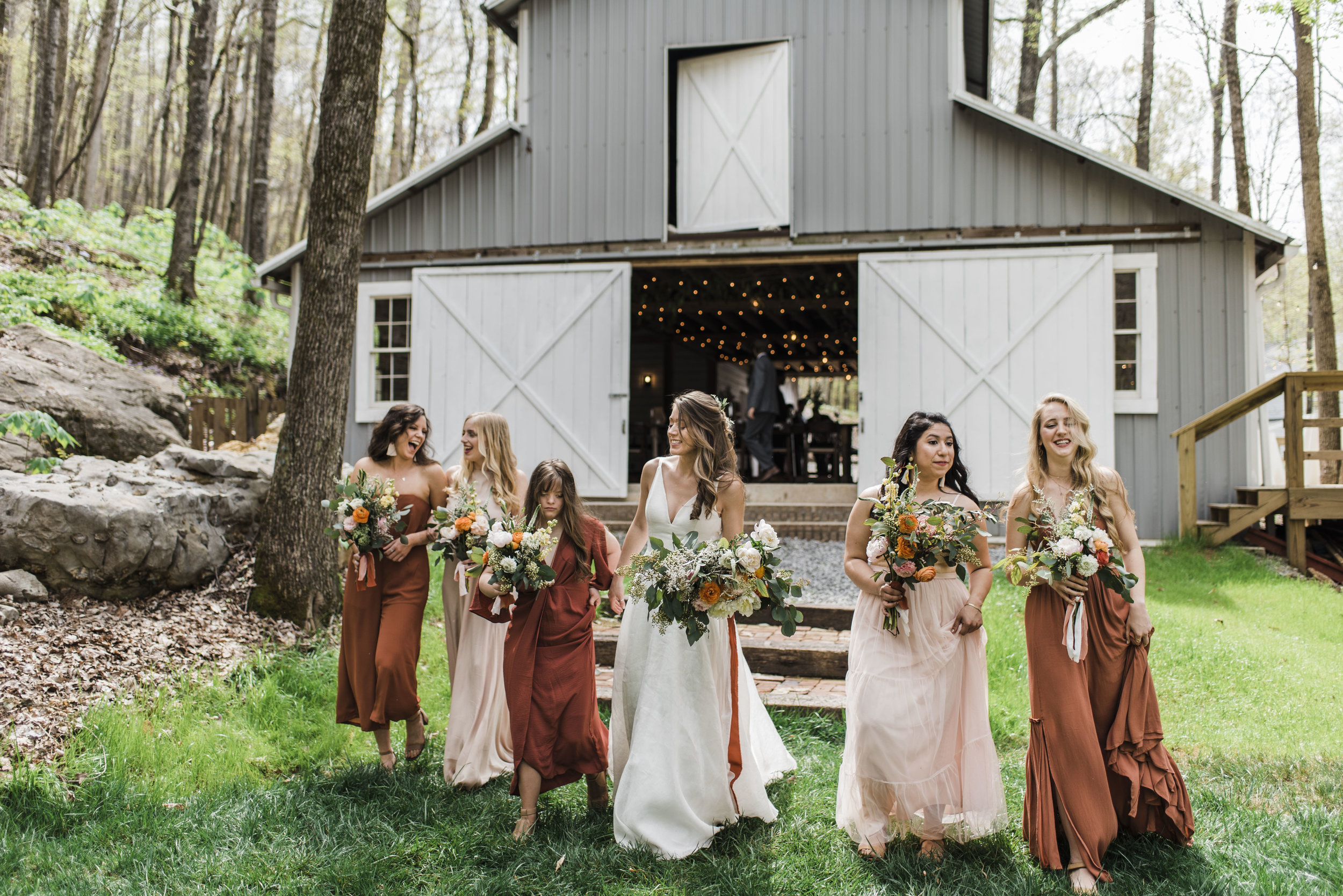 wedding bridal party chattanooga Tennessee