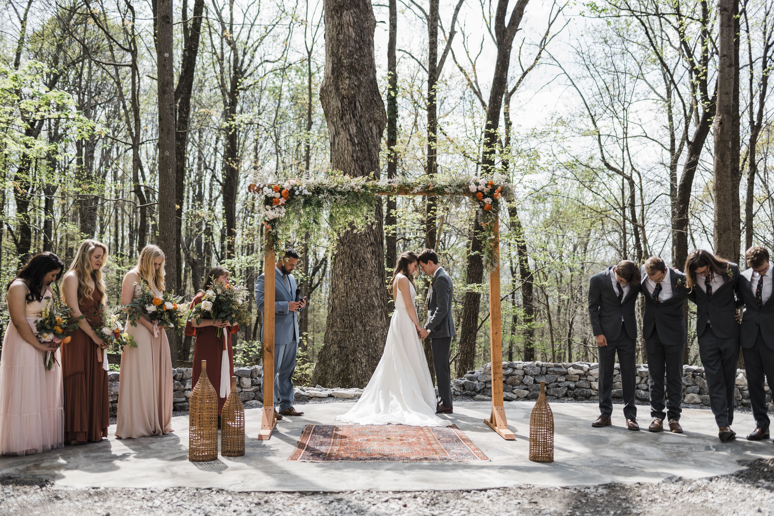 wedding ceremony altar chattanooga Tennessee
