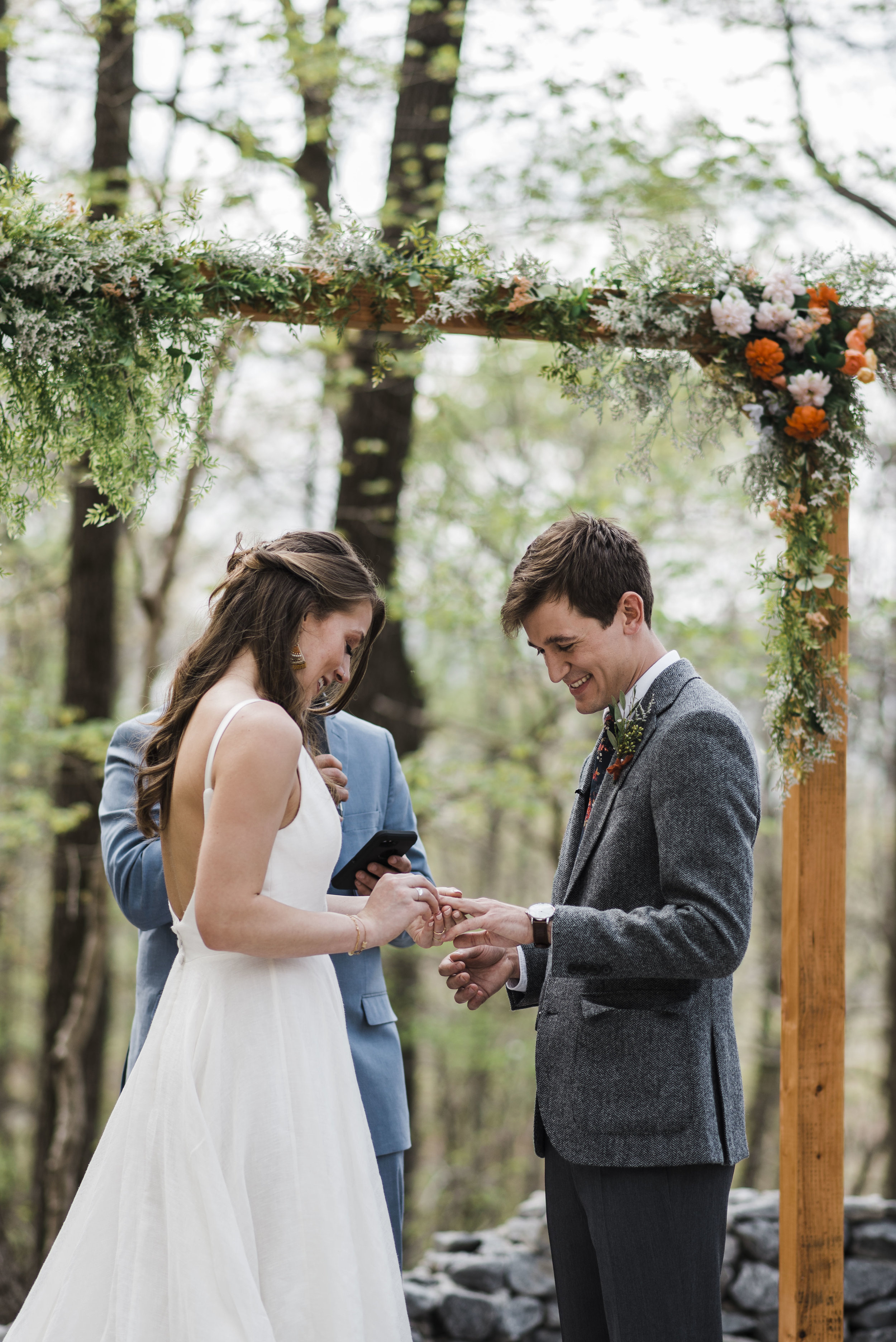 wedding ceremony altar rings chattanooga Tennessee