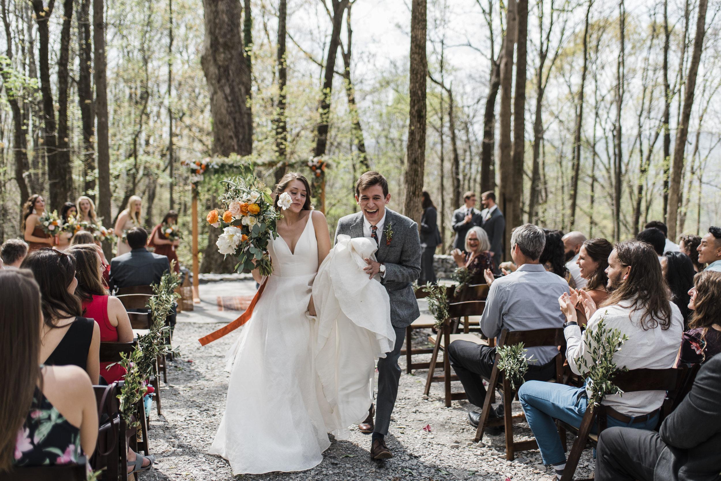 wedding ceremony aisle chattanooga Tennessee