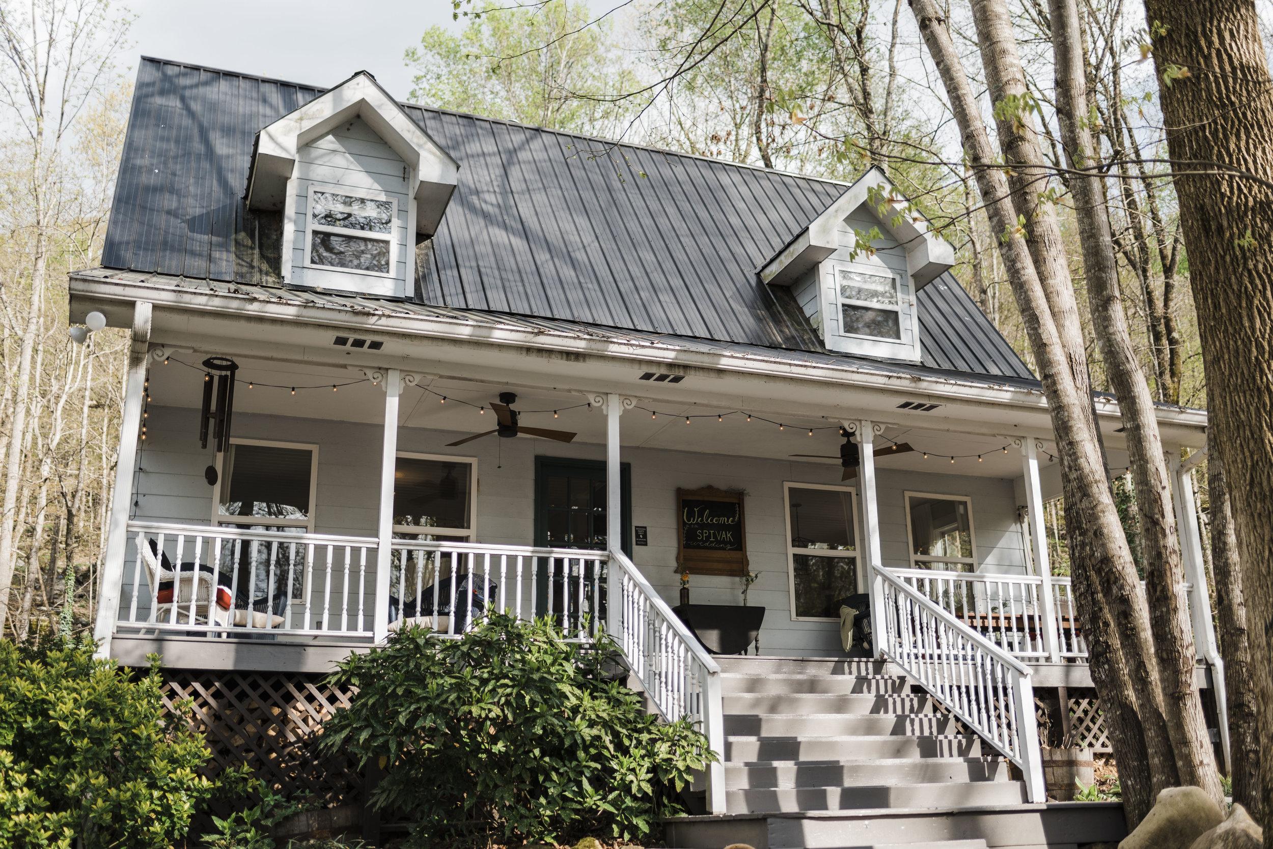 wedding oakleaf cottage Chattanooga Tennessee