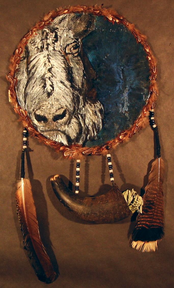 """White Baffalo Elder"" for Michelle Blackcloud"