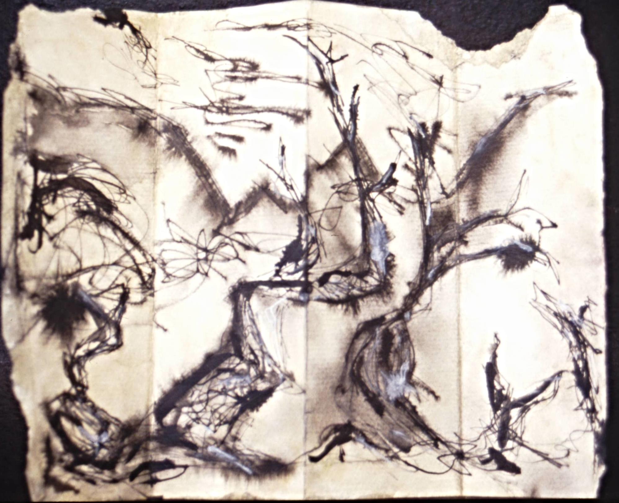 """untitled"" Bristalcoe pine study"