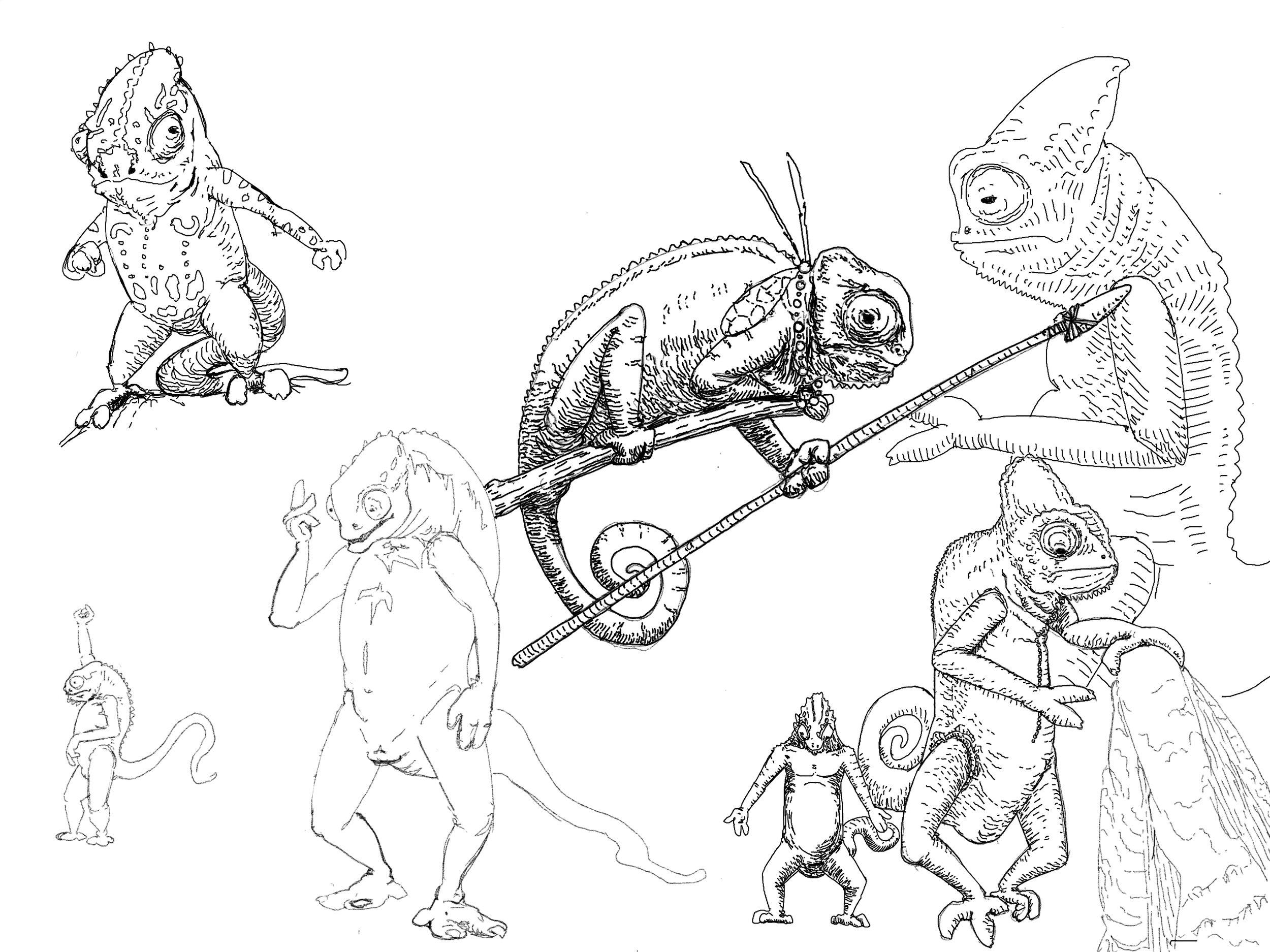 Chameleonoids Study.jpg