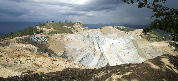 Marlin Mine Pit