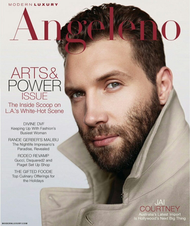 Michelle Oliver Featured in Angeleno Magazine