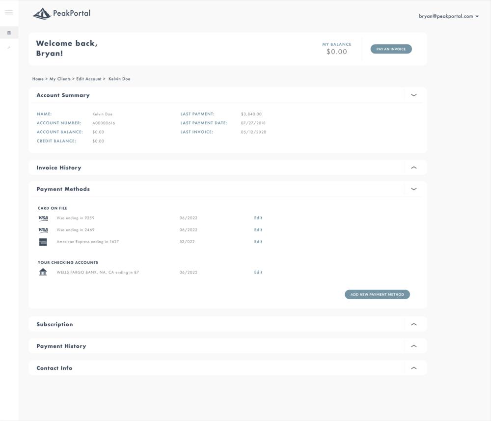 Zuora Subscriber Portal Peakcommerce Ecommerce Software Self Service Platform