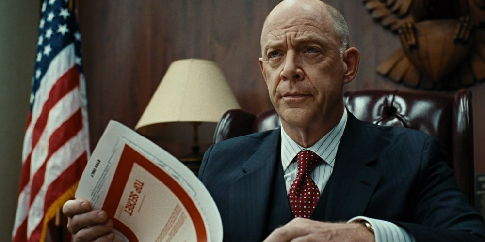 J.K. Simmons in Burn After Reading