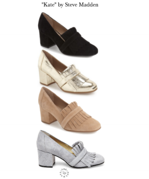 Kate in 4 of the 5 colorways.