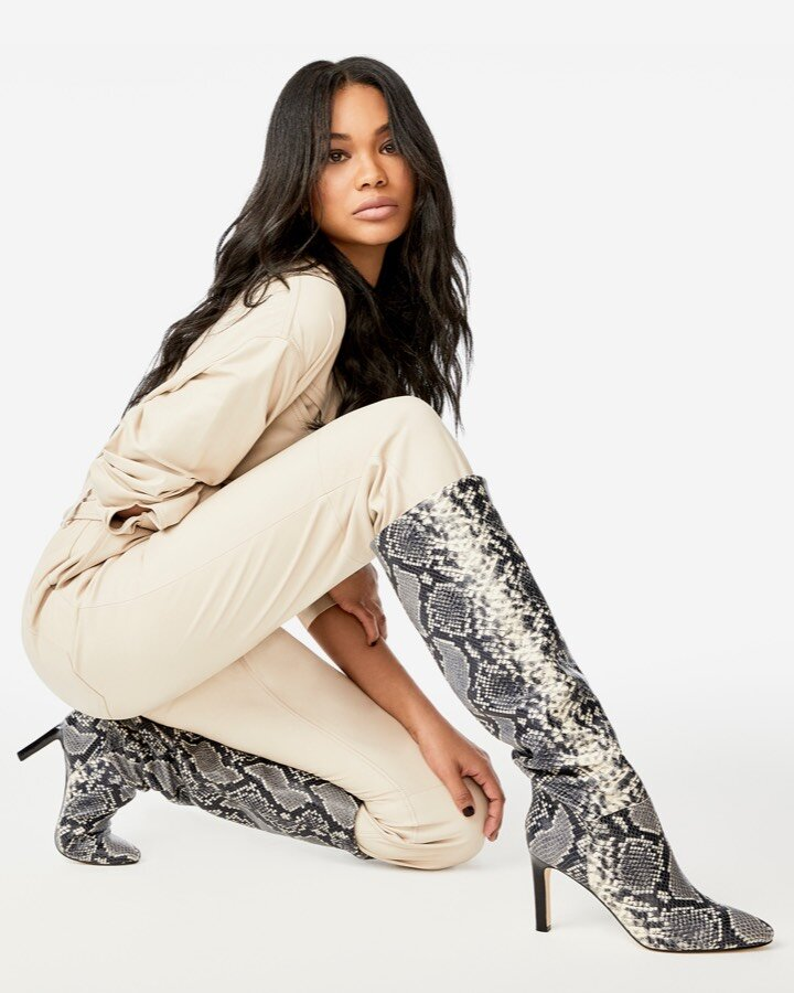 We can't have enough animal prints this fall. - So dont think twice about buying these as well. A great knee high boot, perfect to dress down actually. I'd pair these with a wool hat, a loose acid washed grey tee, black ripped jeans, and a leather coat. Or for a high fashioned look id wear a black leather utility dress. Click here to buy