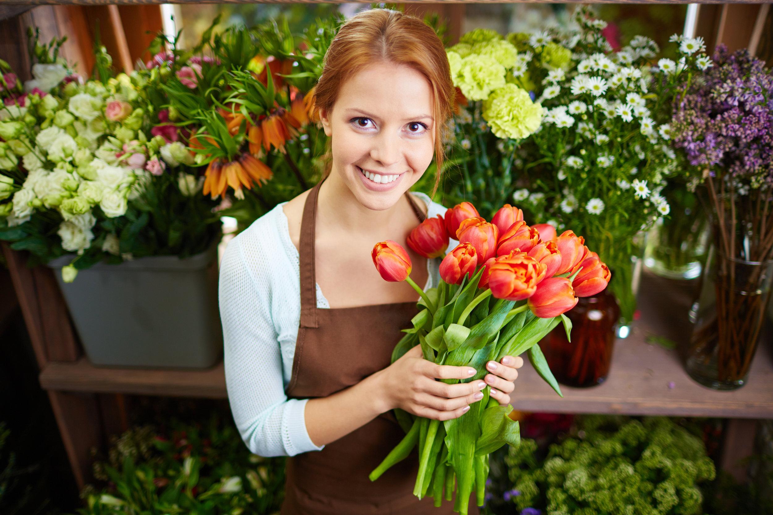 Pretty florist