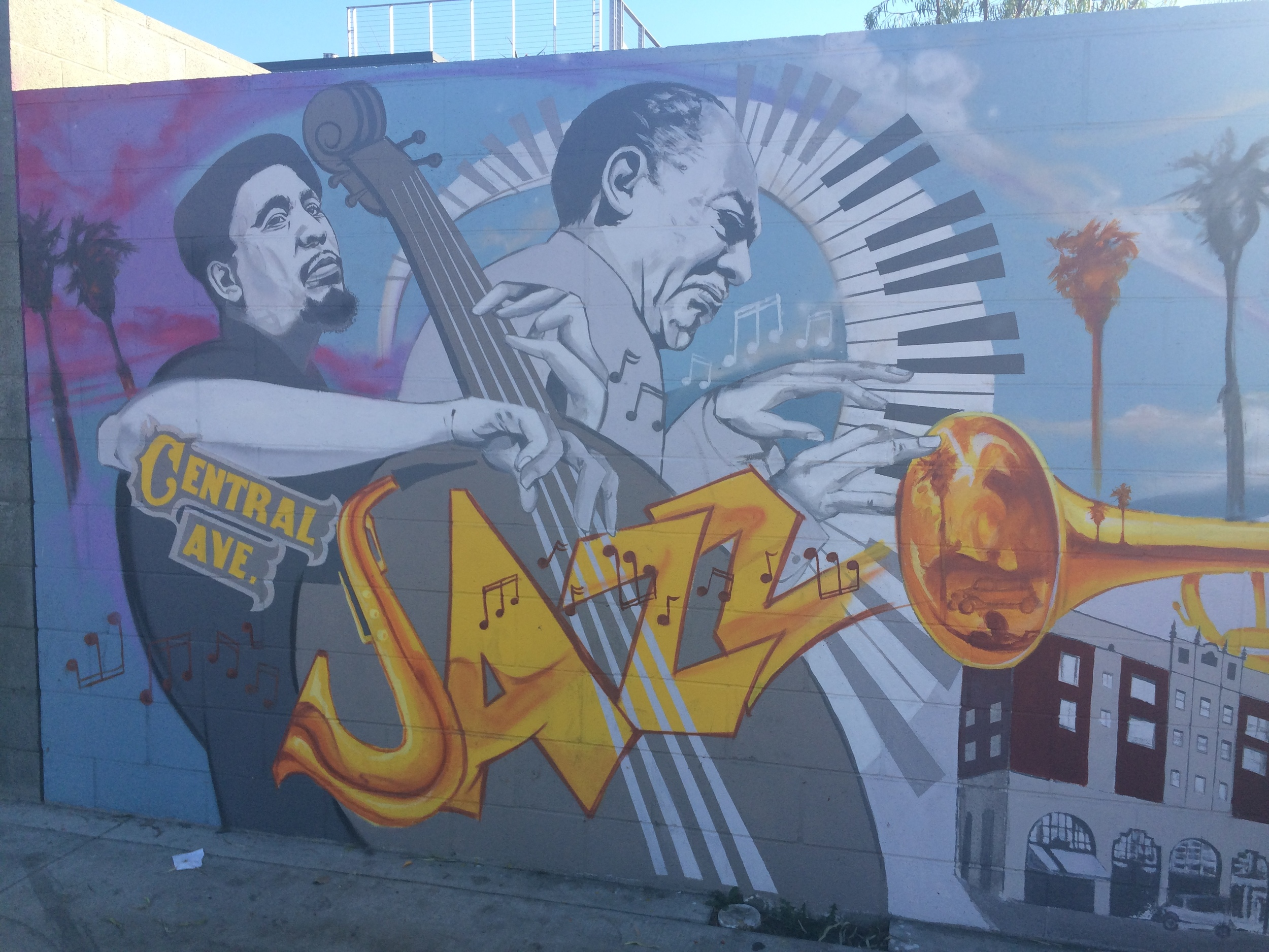 Central Avenue Jazz Festival 2014