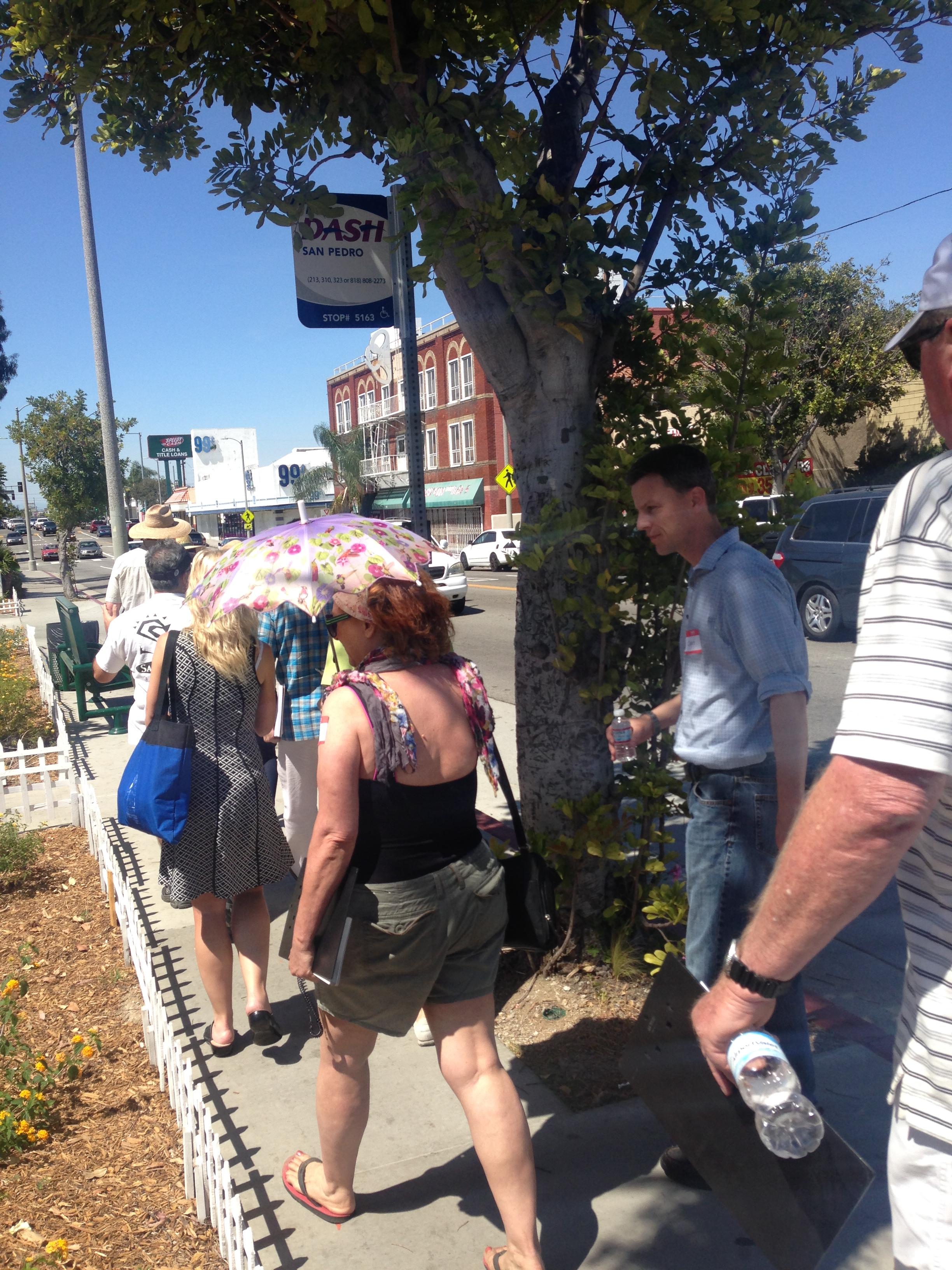 Gaffey Street Walking Tour 2014