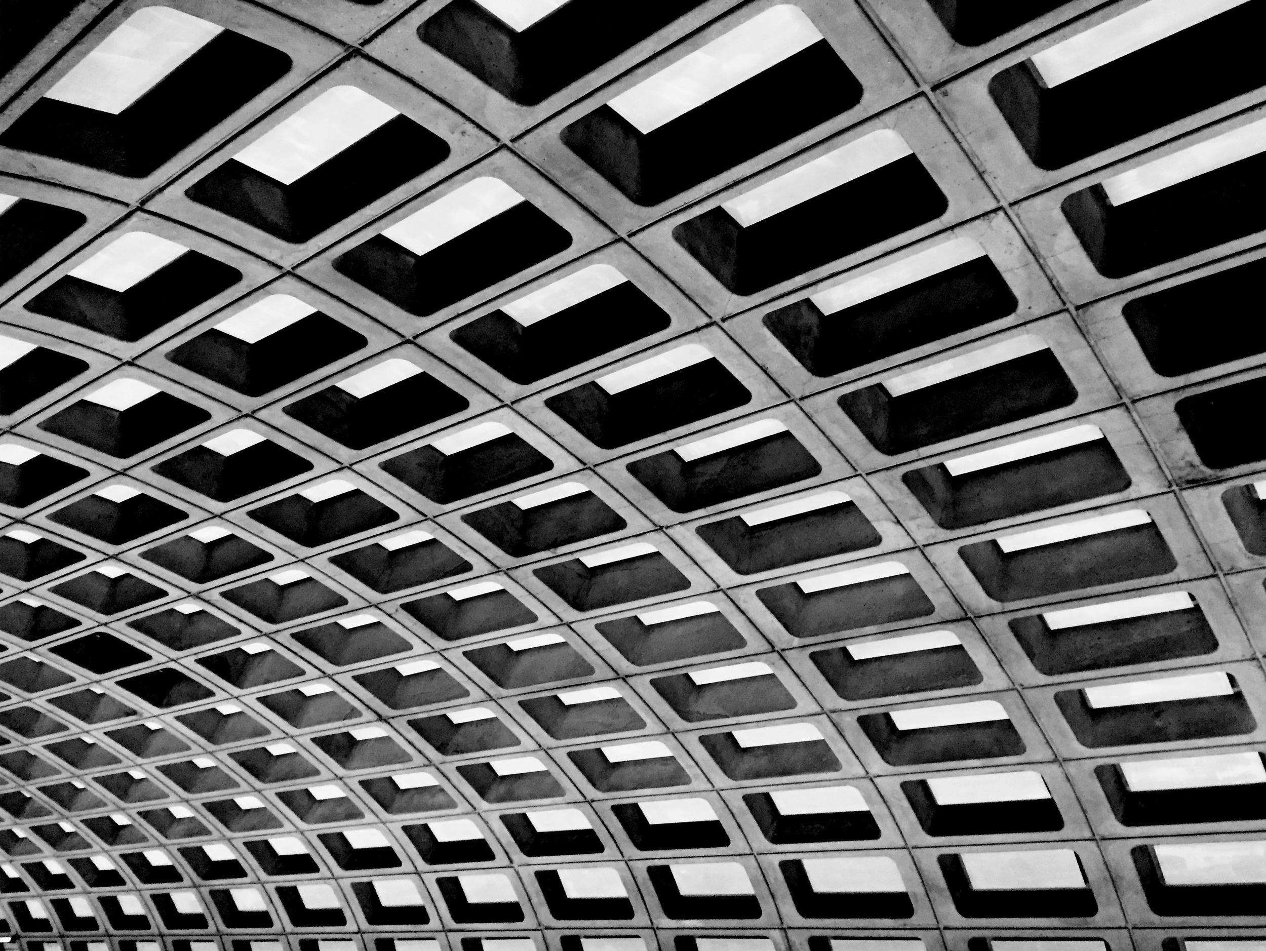 Pentagon City Subway Station.