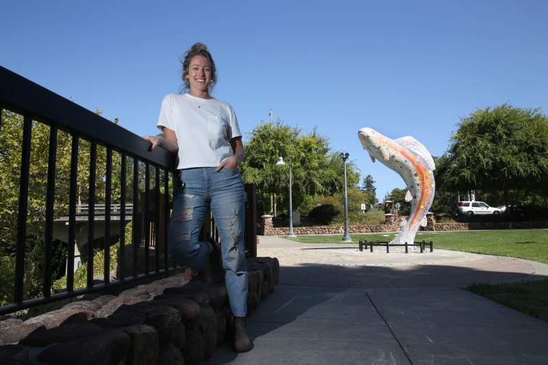 'Fish Statue' in Santa Rosa gets a makeover: new tiles, new grout, TLC - The Press DemocratAugust 29, 2019