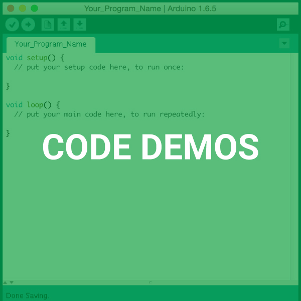 Experiment with Code Demos!