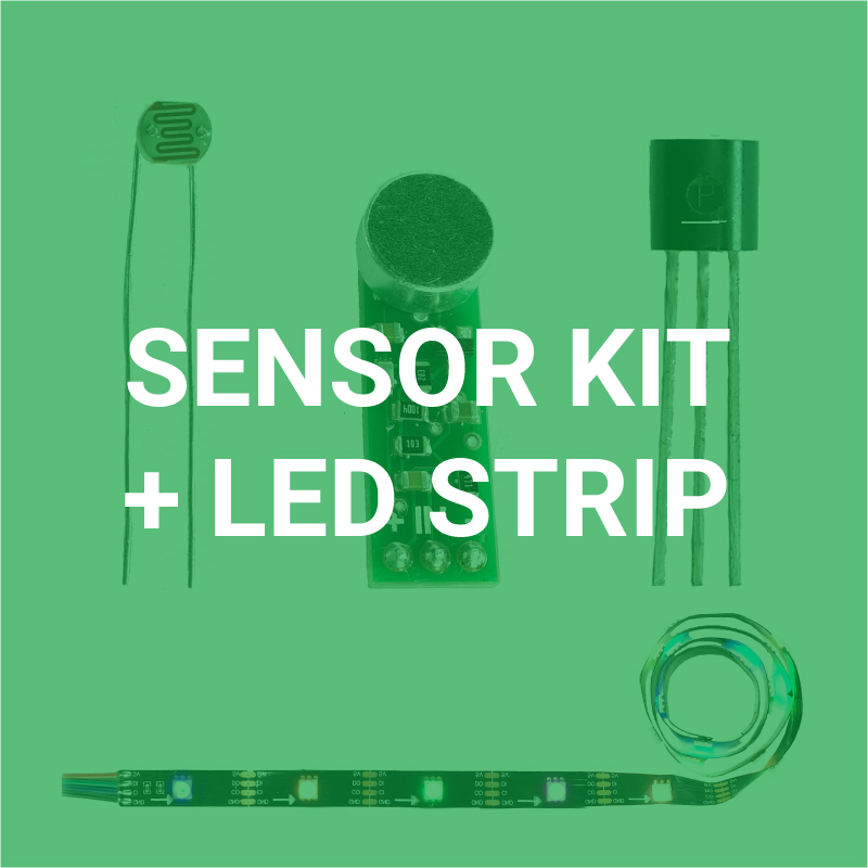 Click for Sensor + LED Strip Projects!