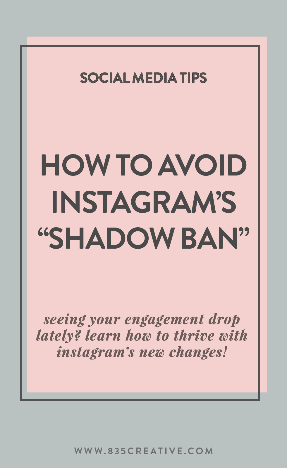 How to avoid Instagram's Shadow Ban, shadowban, shadowbanning. Avoid the shadowban and grow your Instagram!