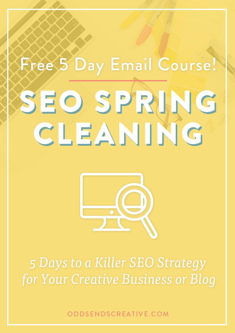 Free Email Course SEO Strategy Tips Creative Entrepreneurs