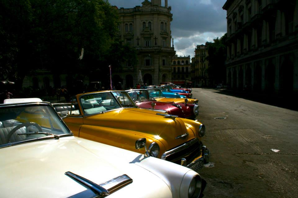 The center of Havana was full of old American cars. It turned out that they were basically the decorated skeletons of the original automobiles. Most were converted to diesel, and they need new sheet metal and interiors every few years due to the damage from the weather and salt water.