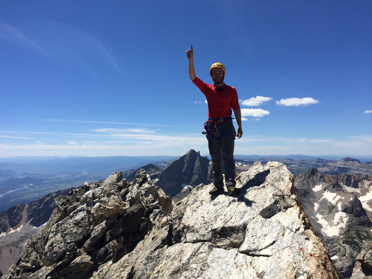 Last summit of the Grand Traverse!