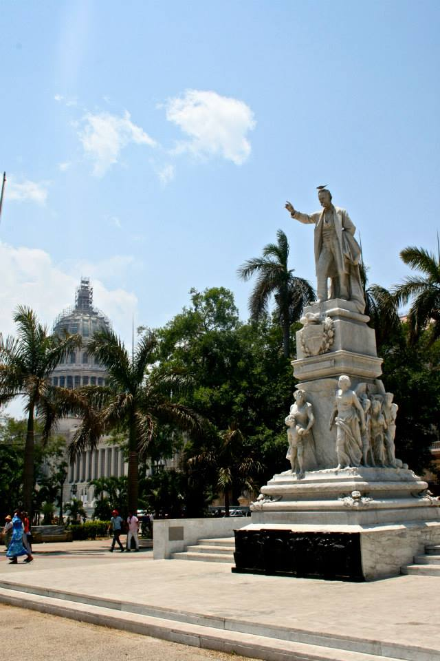 The center of Old Havana, with the Capitol in the background, and a statue of Jose Marti up front. He was a badass who fought for Cuban independence before it was cool. He died in his first battle. Poor bastard.