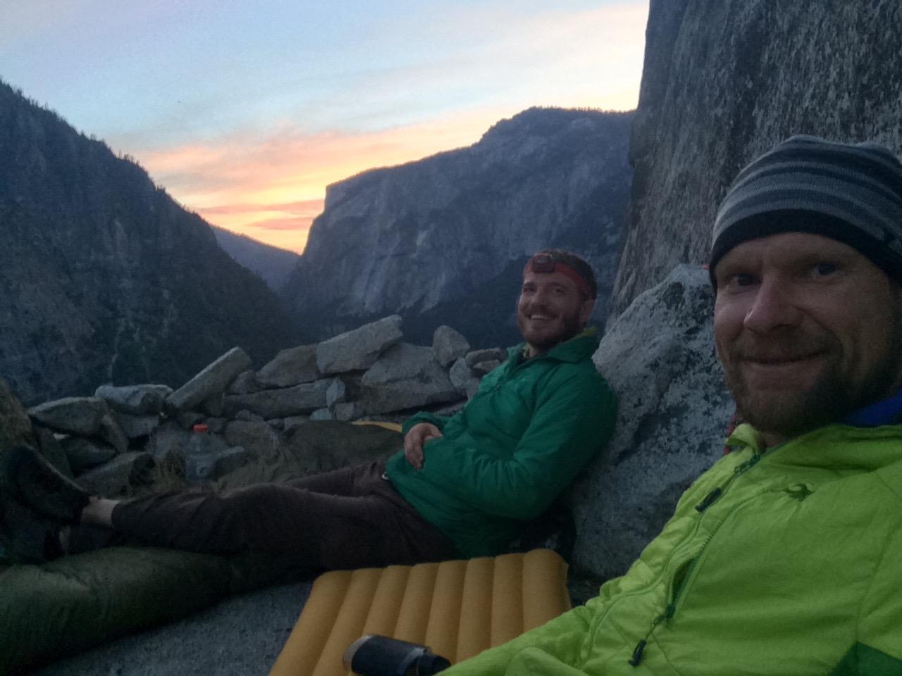 Best wall bivy in Yosemite