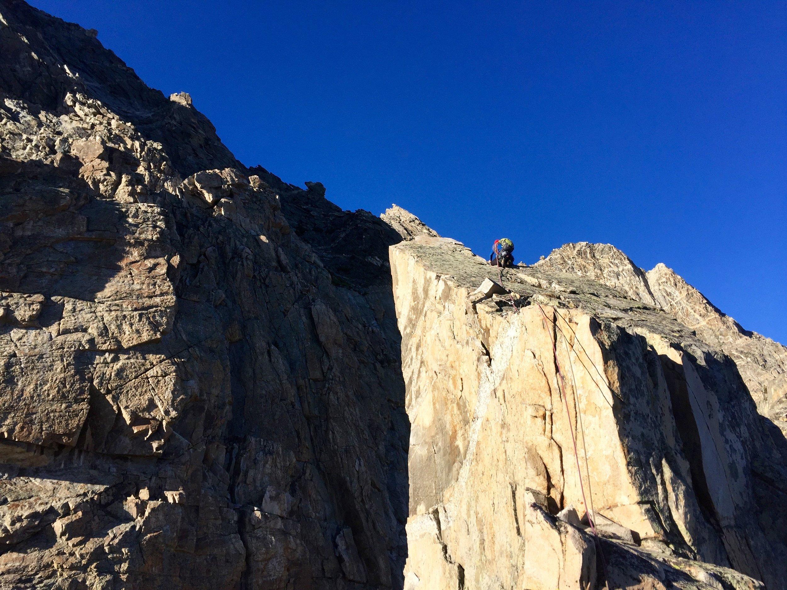 Jeff on the ridge
