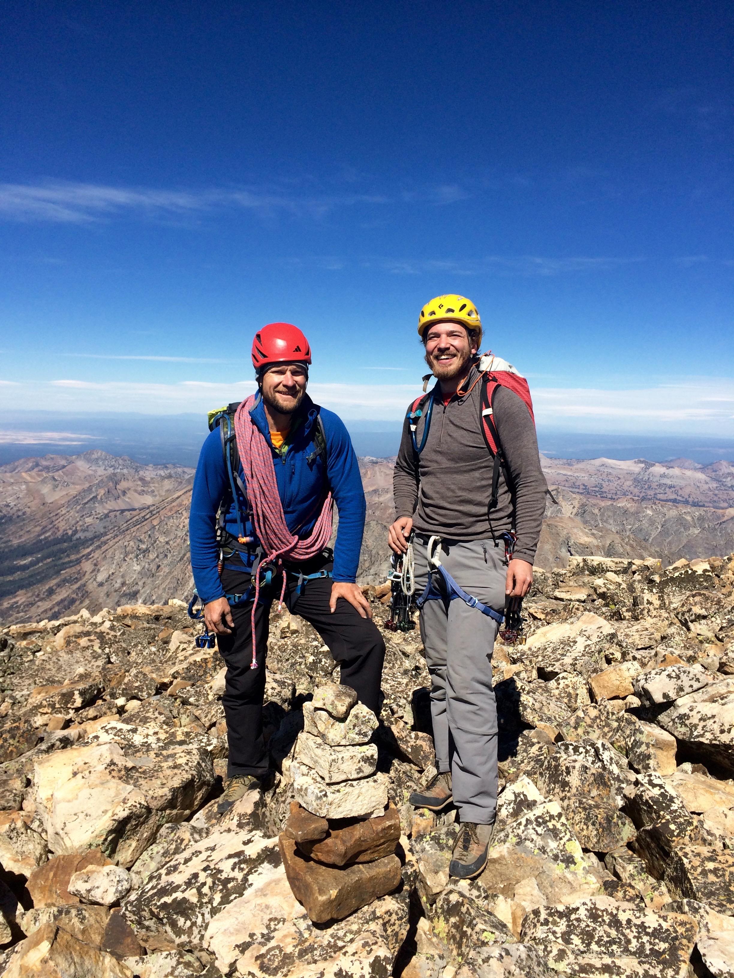 Summit of Mt Moran! 12,605'