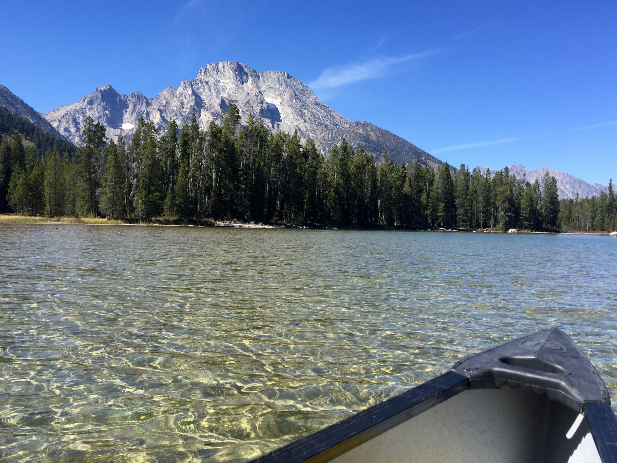 Mt Moran from String Lake