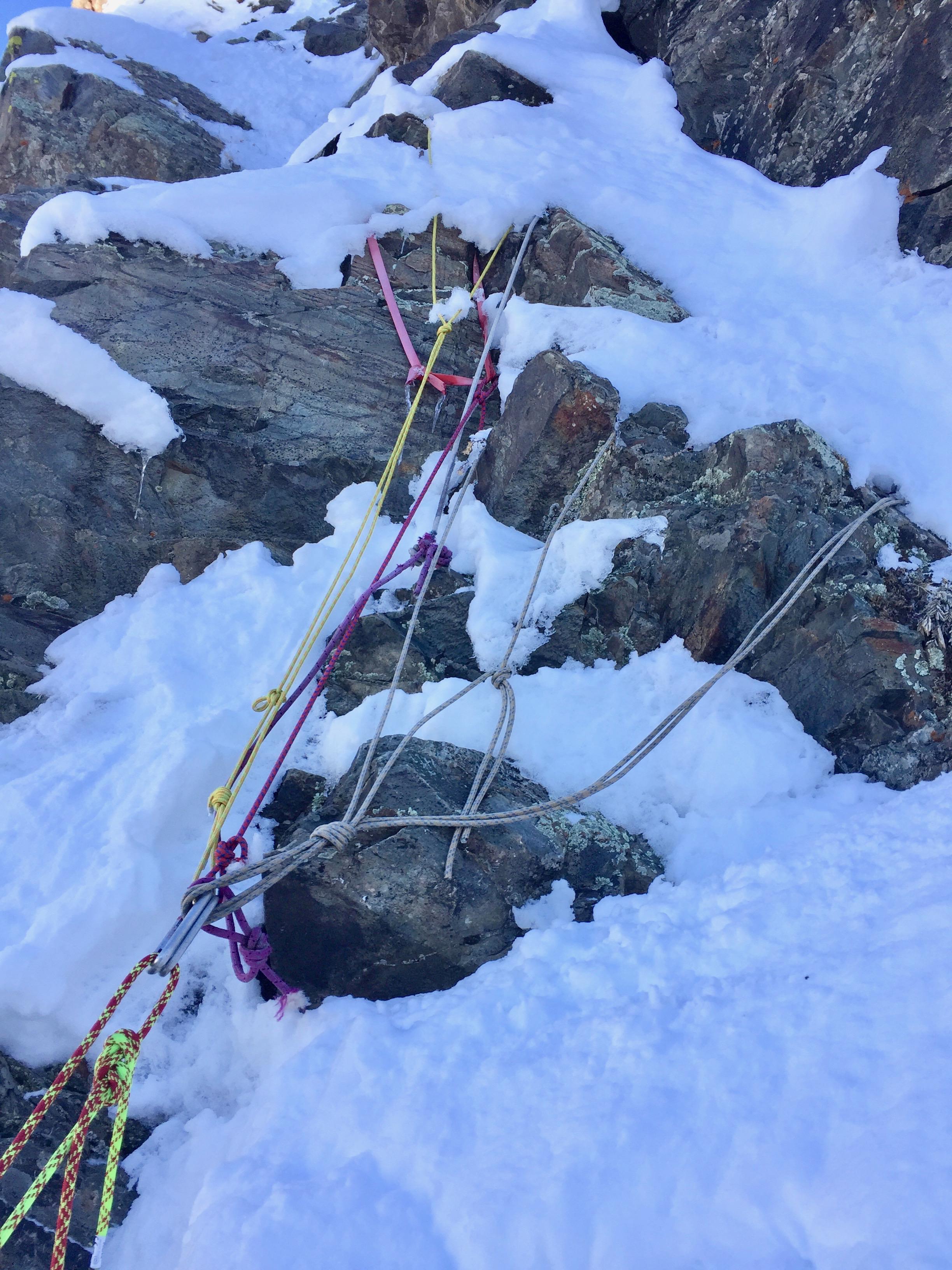 Alpine anchor. Looks legit.