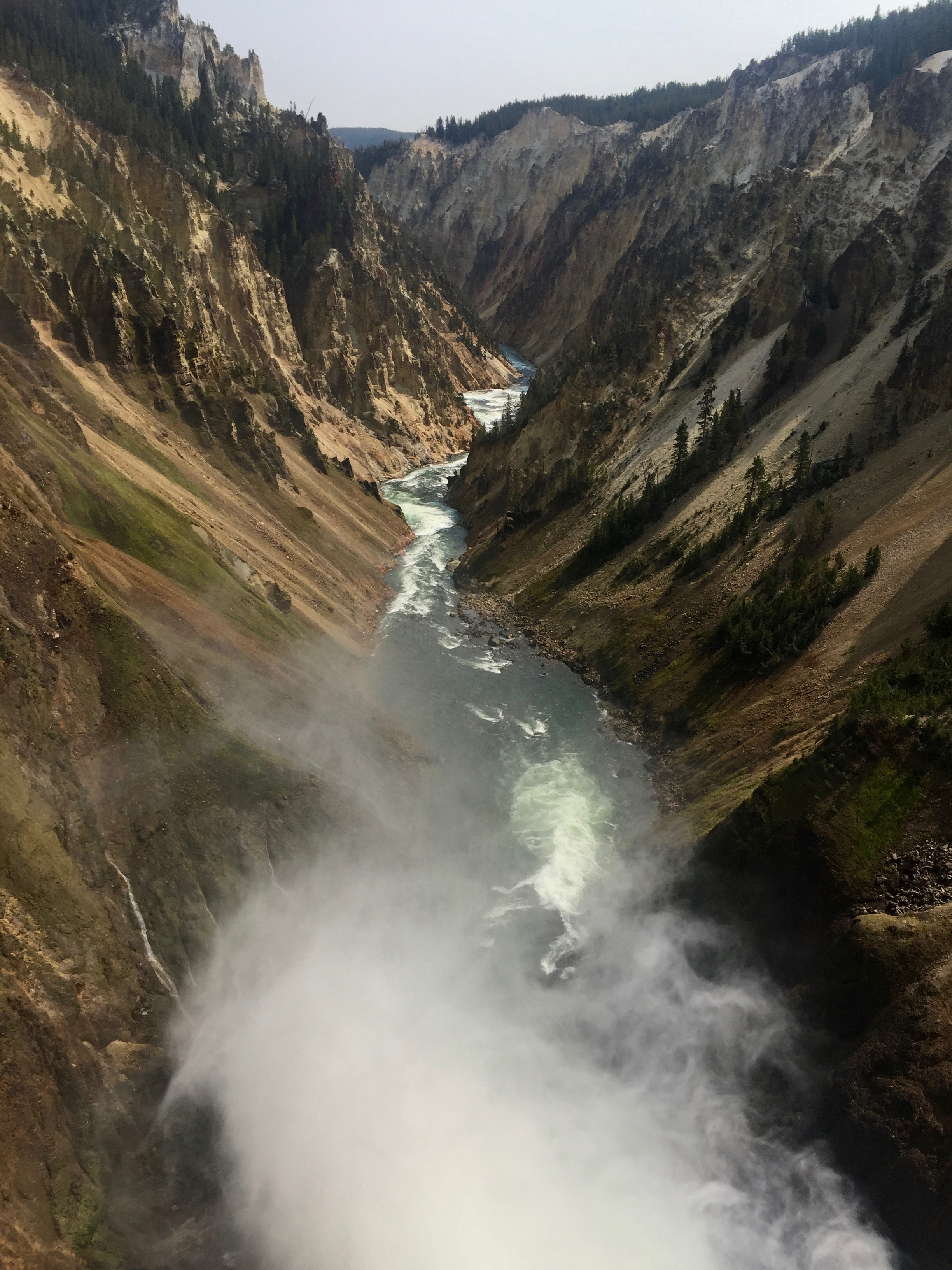Yellowstone is gorges!
