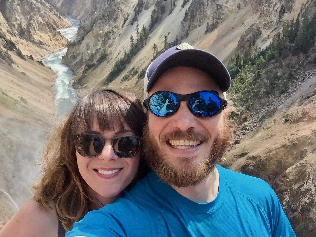 Grand Canyon of Yellowstone with Cassondra