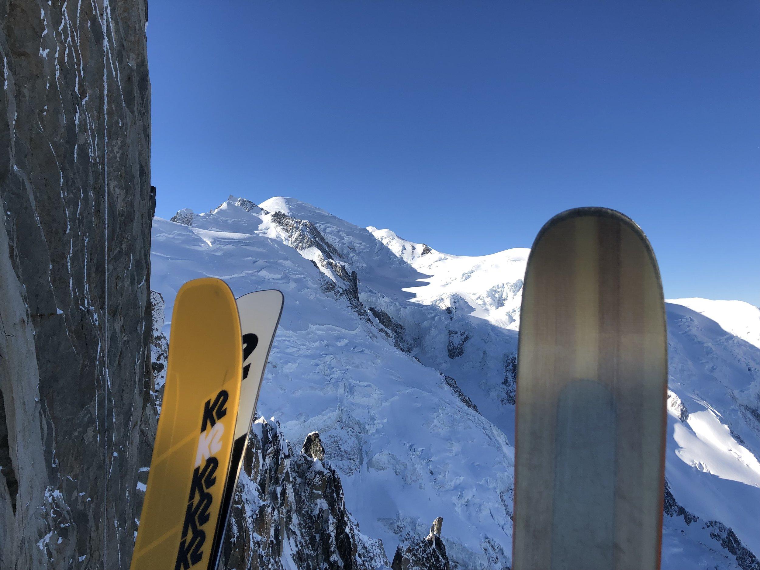 Mt Blanc from Midi