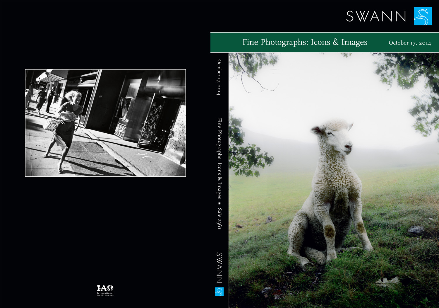Swann Catalogue Cover; October 2014