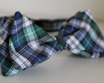 Copy of Blue & green tartan