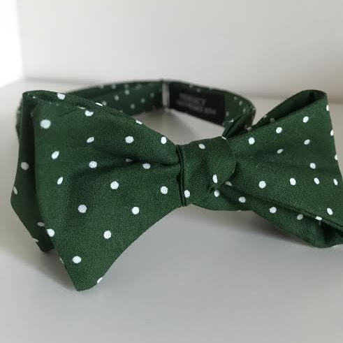 Copy of Green polka dot