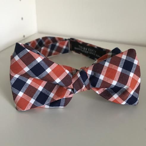 Copy of Orange & blue plaid
